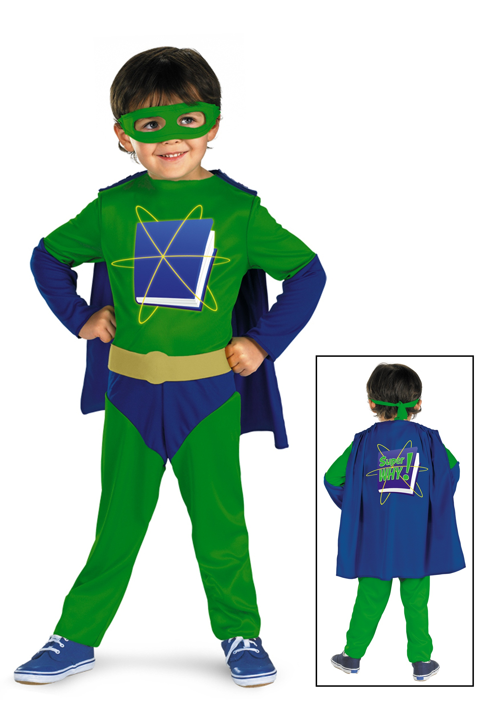 Super Why Toddler Classic Costume Halloween Costume