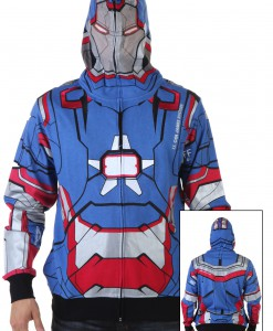 Patriot I Am Marvel Iron Man 3 Costume Hoodie