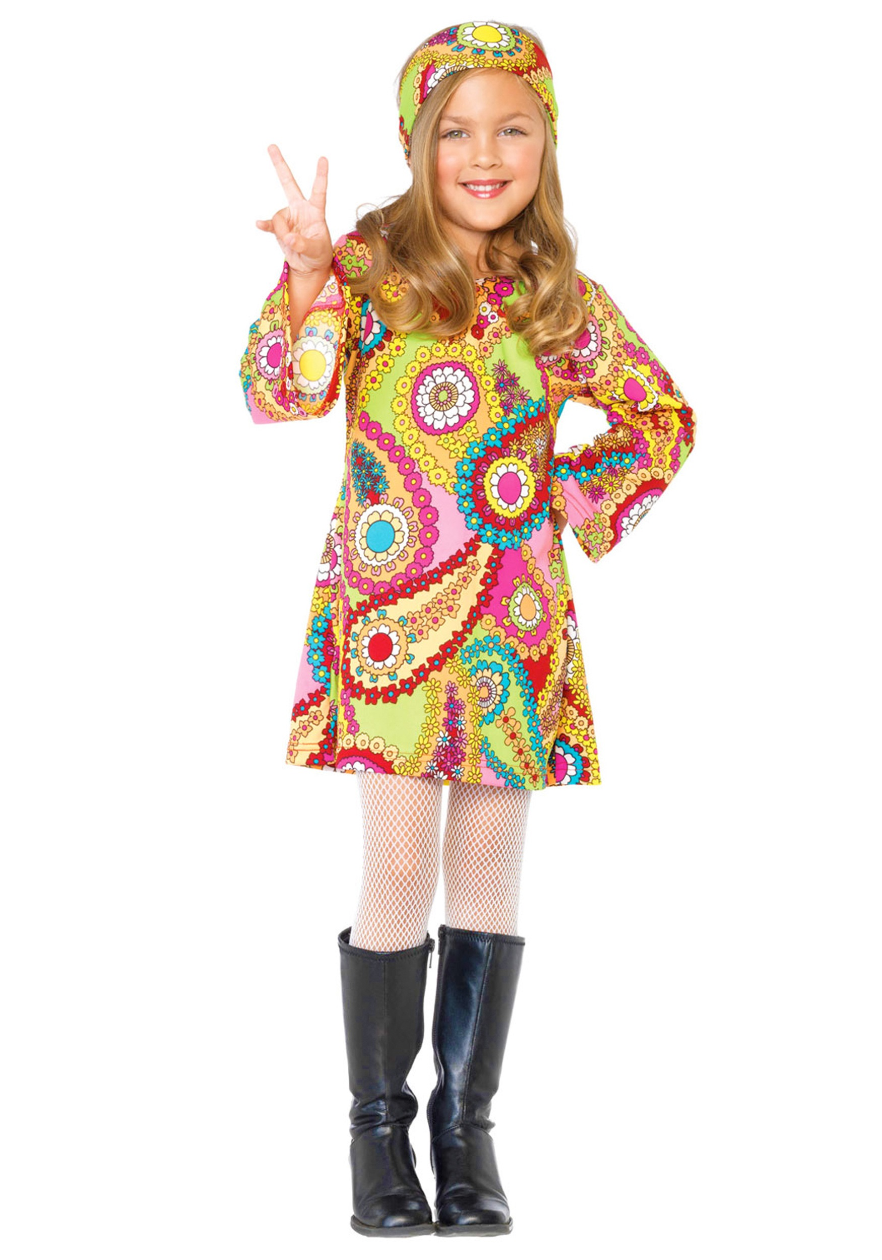 Child Hippie Chick Costume  sc 1 st  Halloween Costumes : hippie child costume  - Germanpascual.Com