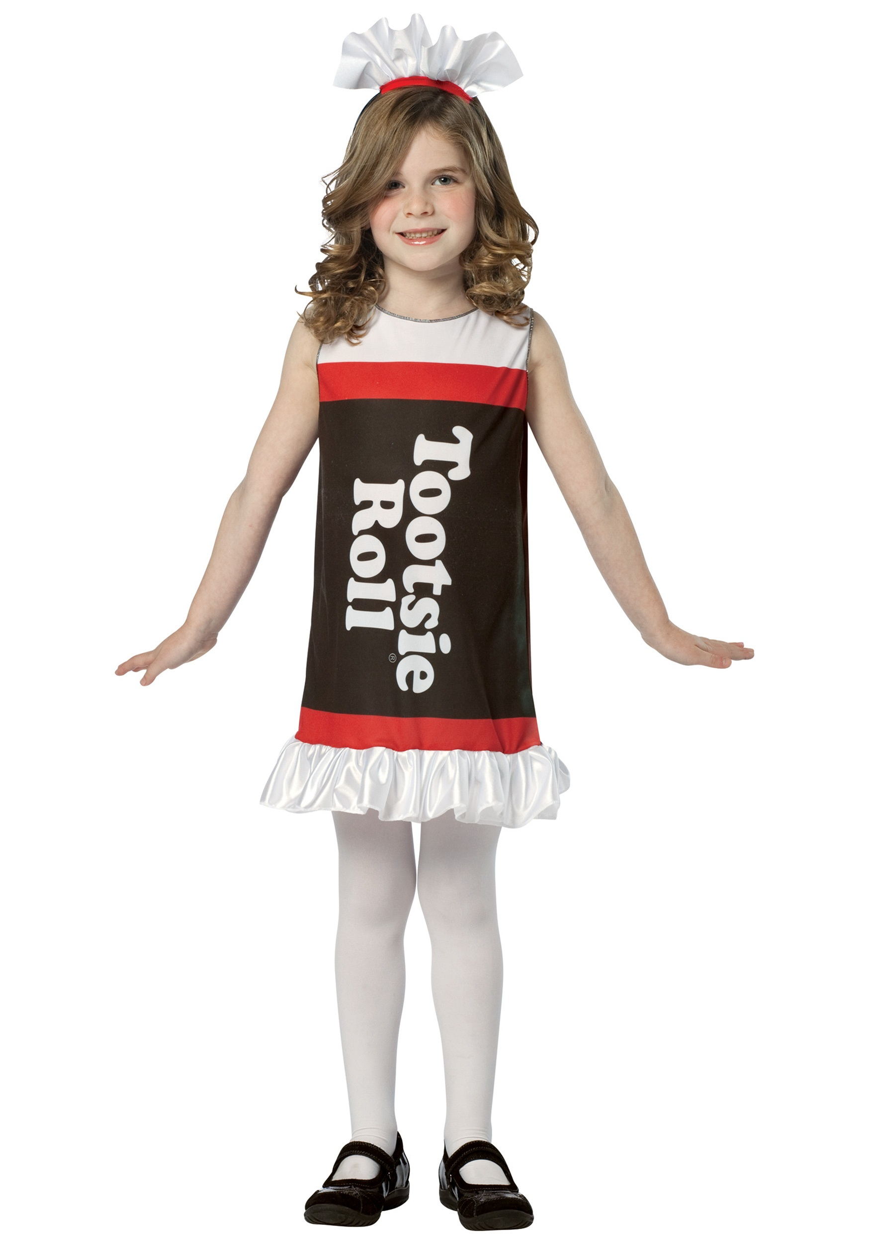 girls tootsie roll dress - halloween costume ideas 2018