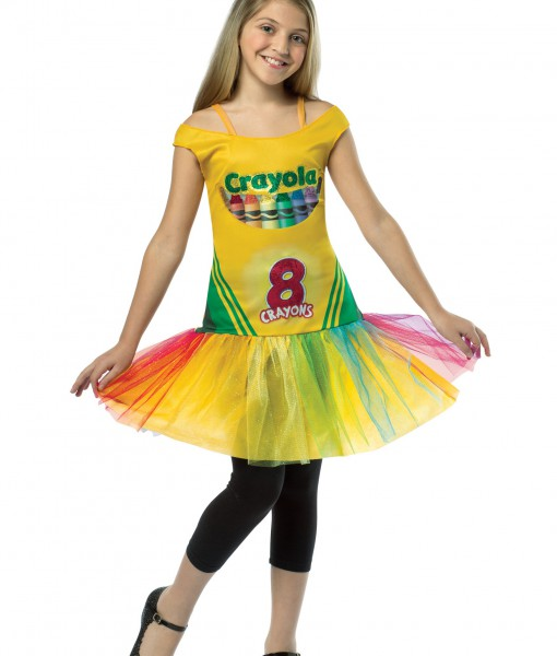 Tween Tutu Crayon Dress