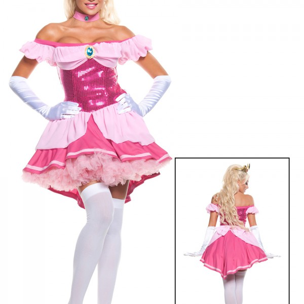 c6fc270345b2 Plus Exclusive Sexy Sequin Pink Princess Costume - Halloween Costume Ideas  2019