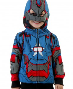 Toddler Iron Patriot Costume Hoodie