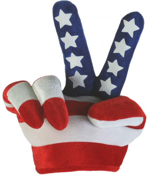 Peace Sign Flag Hat
