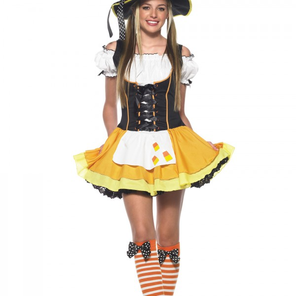 Teen Candy Corn Witch Costume - Halloween Costume Ideas 2016