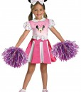 Girls Minnie Mouse Cheerleader Costume