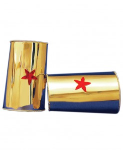 Red Star Gold Cuffs