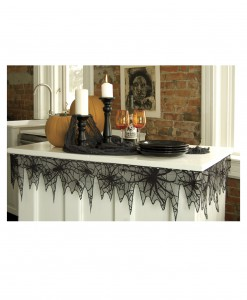 Trick or Trim Spider Web Table Trim