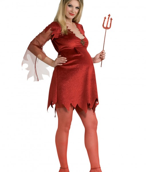 Maternity Devil Lady Costume