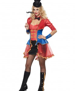 Plus Size Women's Ringmaster Costume