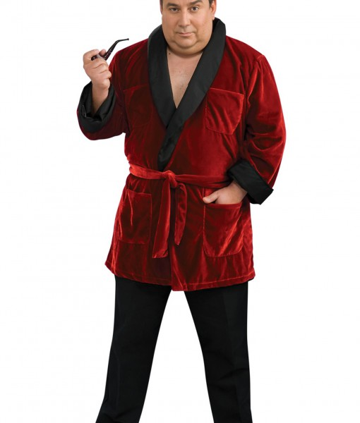 610e9c21a58 Plus Size Hugh Hefner Costume