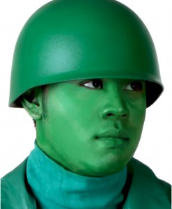 Green Army Man Helmet