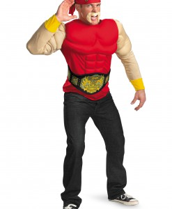 Adult Hulk Hogan Muscle Costume