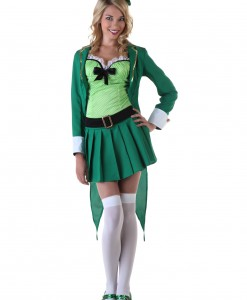 Womens Lucky Leprechaun Costume