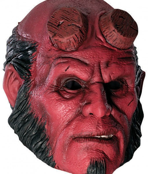 34 latex hellboy mask