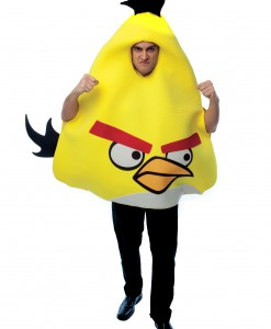 Adult Yellow Angry Bird Costume