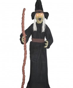 Standing Witch with Light Up Eyes