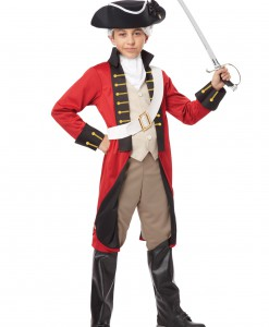 Boys British Redcoat Costume