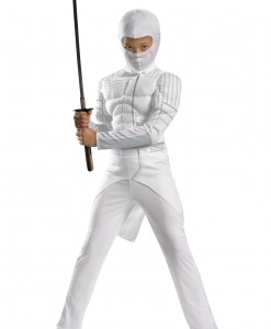 Kids Storm Shadow Muscle Costume