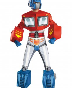 Optimus Prime Super Deluxe Adult Retro Costume