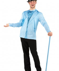 Men's Blue Tuxedo Costume T-Shirt