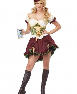 Beer Garden Girl Plus Size Costume