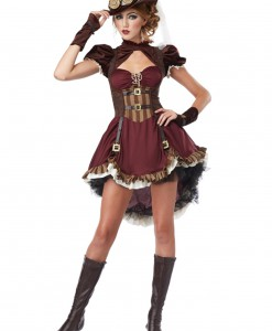 Adult Steampunk Lady Costume