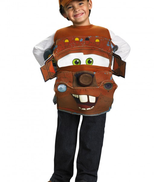 Kids Deluxe Tow Mater Costume