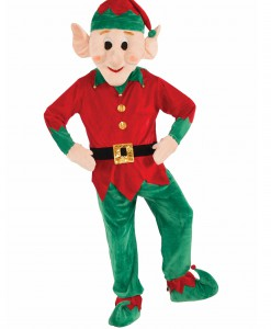 Promotional Elf Mascot Costume