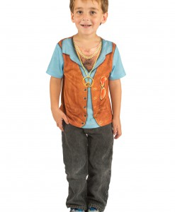 Toddler Hairy Chest Costume TShirt