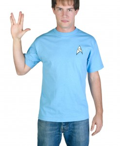Blue Star Trek Costume T-Shirt