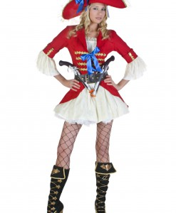 Plus Size Sexy Captain Blackheart Costume