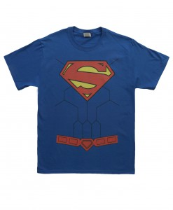 New 52 Torso Superman Costume T-Shirt