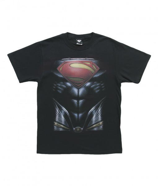 Man of Steel Superman Costume T-Shirt