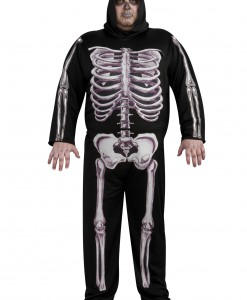 Plus Size Skeleton Costume