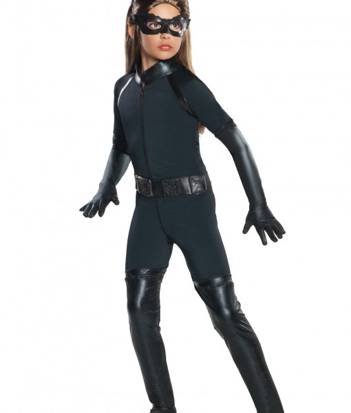 Girls Deluxe Catwoman Costume  sc 1 st  Halloween Costumes & Girls Deluxe Catwoman Costume - Halloween Costume Ideas 2016