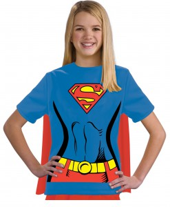 Child Supergirl T-Shirt Costume
