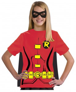 Child Robin T-Shirt Costume