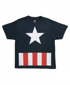 Kids Captain America Star TShirt