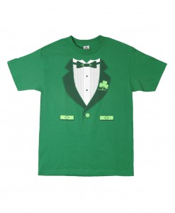 Green Irish Tuxedo T-Shirt