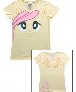 Womens My Little Pony Fluttershy Face T-Shirt
