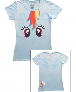 Womens My Little Pony Rainbow Dash T-Shirt