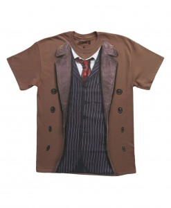 Doctor Who 10th Doctor Costume T-Shirt