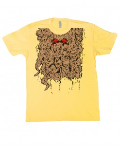 Curly Lion Costume T-Shirt