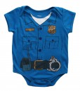 Toddler Cop Uniform Onesie T-Shirt