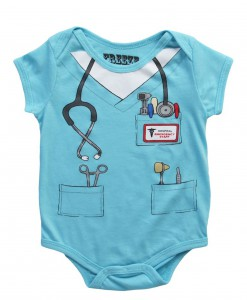 Toddler Doctor Uniform Onesie T-Shirt