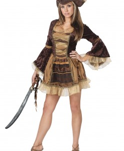 Sexy Brown Pirate Costume