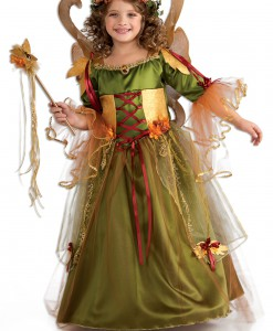 Girls Forest Fairy Queen Costume