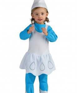 Toddler Smurfette Costume