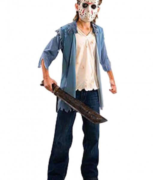 Halloween Costume Jason Friday 13th.Friday The 13th Jason Teen Costume